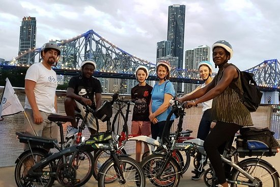Brisbane City Light Electric Bike Tour
