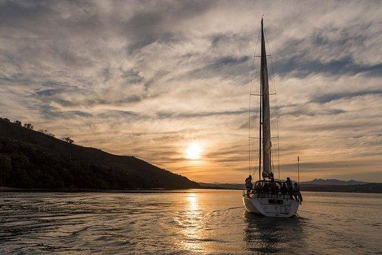 Crucero al atardecer en Knysna