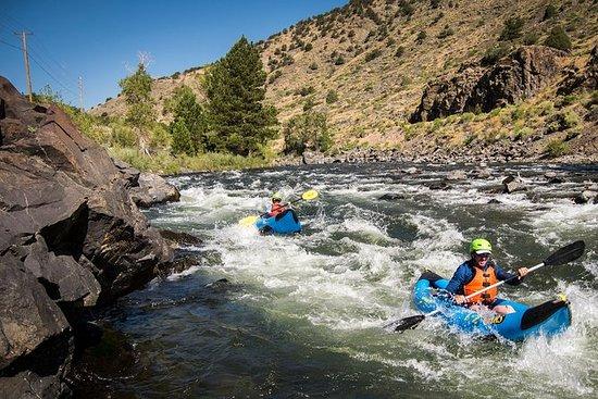 Excursion en kayak gonflable en eaux...