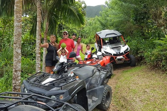 Sunny Blue Als In St Kitts For Atv And Dune Buggy Combo Tours Provided By Scooter