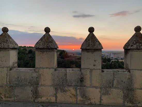 "Alcázar of Segovia: Evening on the ""roof""."