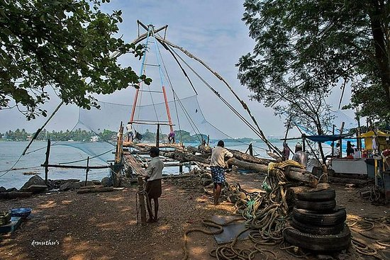 Private walking tour in kochi with a...