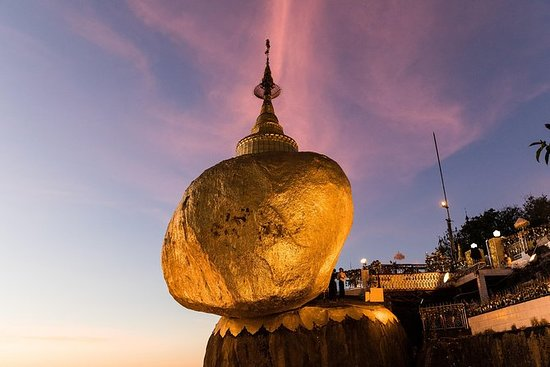 Golden Rock Day Return Trip from Yangon...