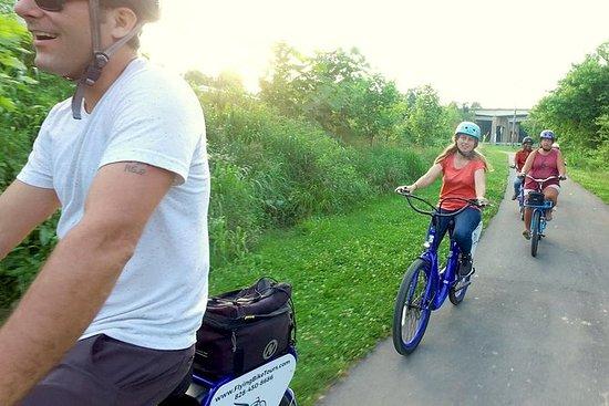 Recorrido guiado en bicicleta...