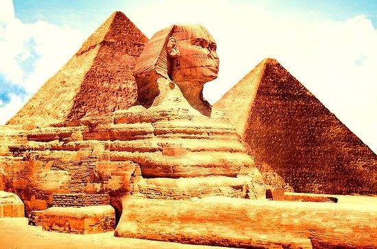 Pyramiden von Gizeh, Sphinx und Saqqara: Day Tour Giza Pyramids & Sphinx and Saqqara