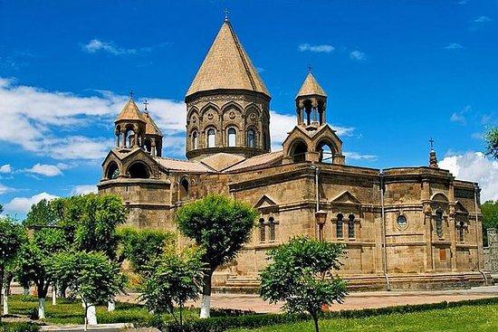 Visite privée d'Erevan à Ejmiadzin...