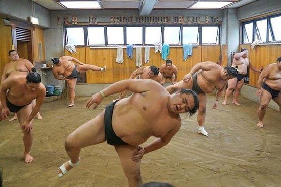 Ryogoku Sumo Morning Training Tour in...