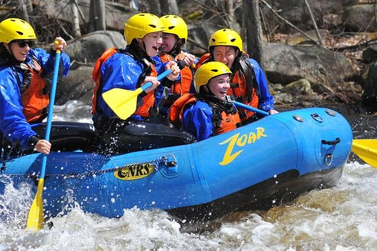 Springtime Whitewater Rafting on the...