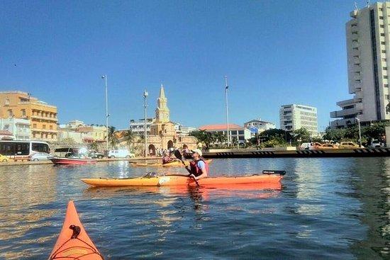 Cartagena i kajakk