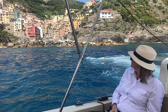 Gasten van het Cinque Terre Cruise ...