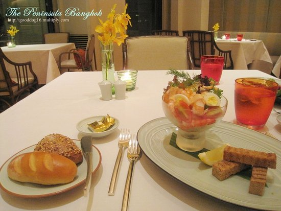 The Peninsula Bangkok: dinner