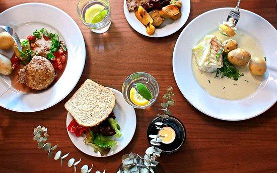 Vastra Gotaland County, Szwecja: Dagens lunch
