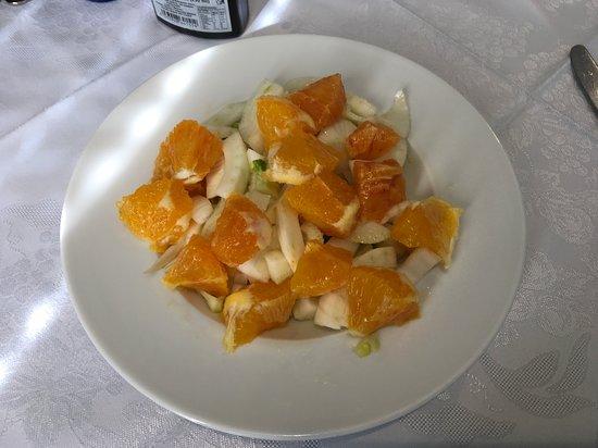 Insalata arancia e finocchi