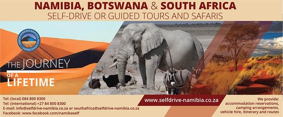 Namibia Botswana and South Africa Self Drive and Guided Tours