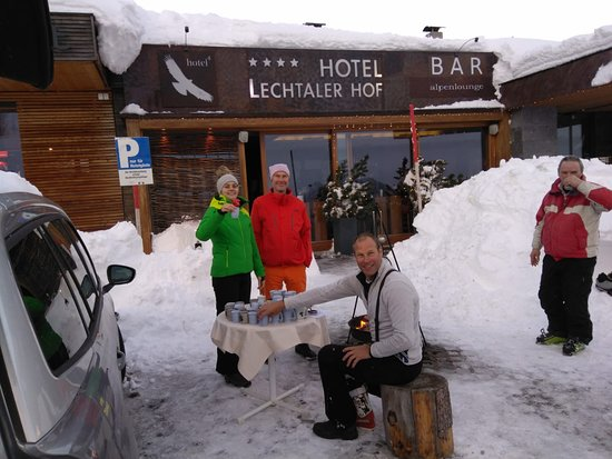 A big thank you to the Brenner Family managing the Boutique hotel Lechtalerhof in Warth. They could not have been more helpful in accommodating our group during disruptions as a result of  the resent snow and the hotel is lovely