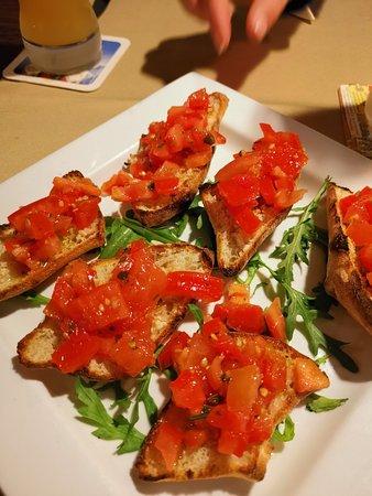 Herausragende italienische Küche