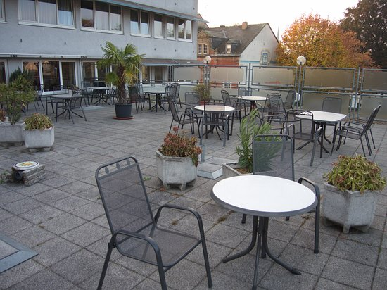 Hotel Constantin: The terrace of the hotel
