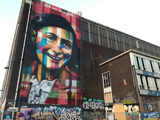 Anne Frank Mural
