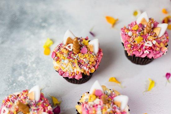 Our signature Unicorn Cupcakes