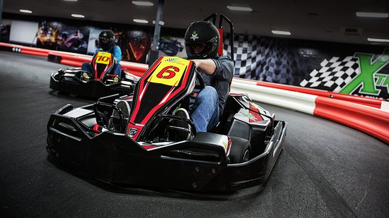 "Broken Arrow, OK: Fast indoor electric go karts for all ages.  Adult karts are capable of 45 MPH, junior karts for age 6 and up and 48"" tall.  If you like races and not rides, this is the place to go in Tulsa for the thrill of a race."