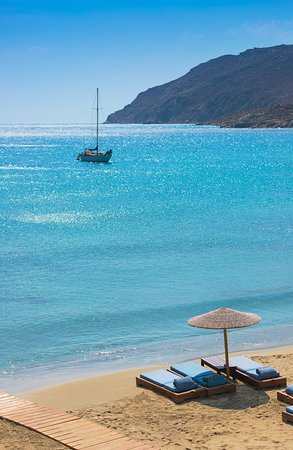 Solymar Beach,alluring, inviting and with shimmering, crystal-clear turquoise waters.