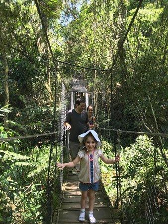 Itatiba, SP: Ponte suspensa