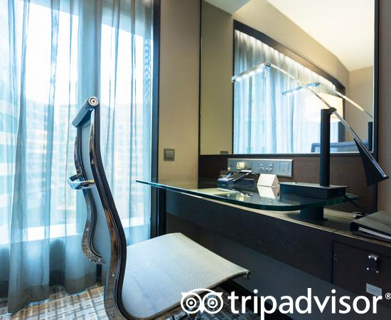 The City view Room at the New World Millennium Hong Kong Hotel