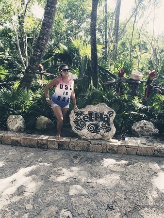 Xel-Ha Park by Xcaret: Had the best time ... great for snorkeling.. food was good.. worth the trip