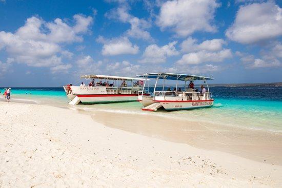 Epic Water Taxi at Klein Bonaire (Kantika Too and Kantika di Amor)