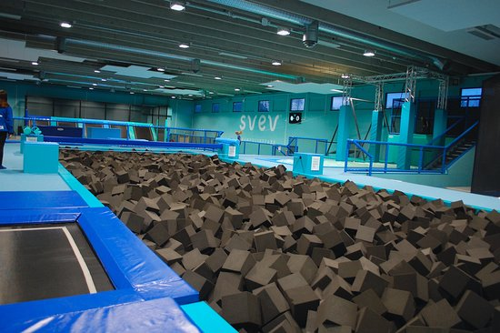 Sarpsborg, Norge: 100 sq m foampit!