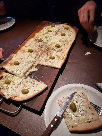 Pizza na Média/Boa