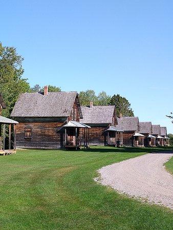Wiederaufgebaute Häuser