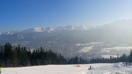 Kolej Linowo Terenowa PKL Gubalowka: Widok na góry