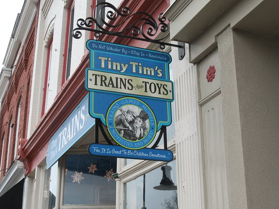 Ashland, VA: Tiny Tim's Trains and Toys.