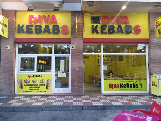 Churriana de la Vega, España: DIVA Kebabs