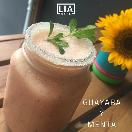 Delicioso Batido de Guayaba con Menta