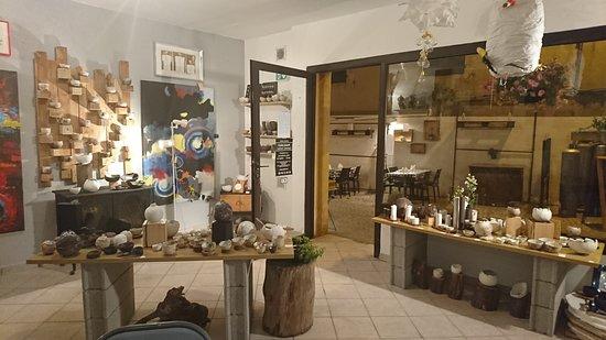 Atelier d'artiste ceramique