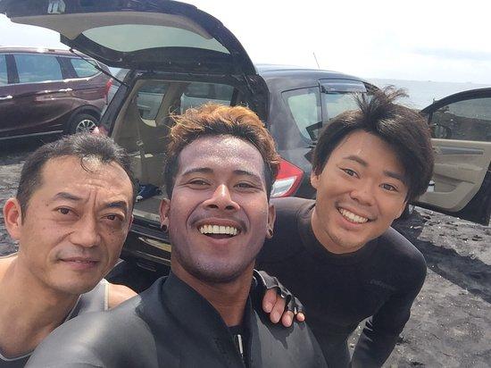 Serangan, อินโดนีเซีย: 楽しいね〜!