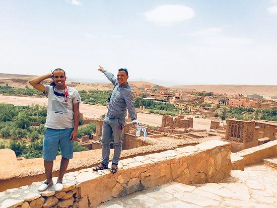 Ait Ben Haddou, Marokkó: Мой муж Мустафа и его компаньон Хамми