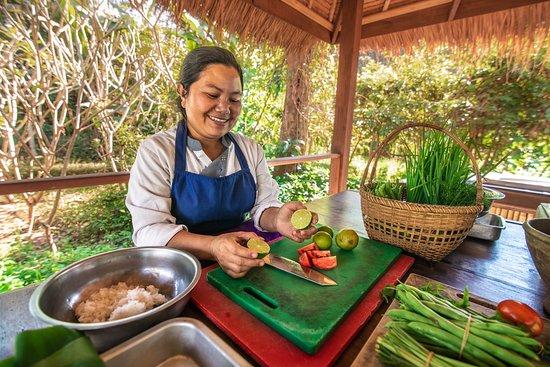 Muang La Lodge: Cooking class