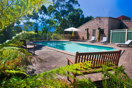 New Norfolk, Australia: Solar heated swimming pool available summer months only