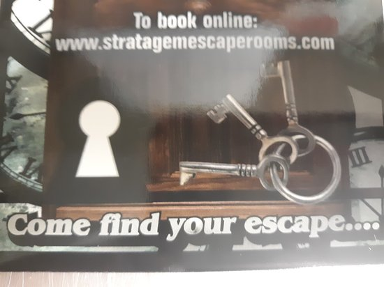 Stratagem Escape rooms