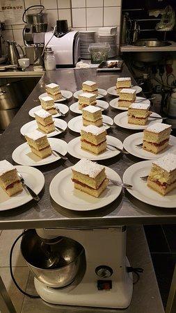 Broendby, Denmark: Dagens kage