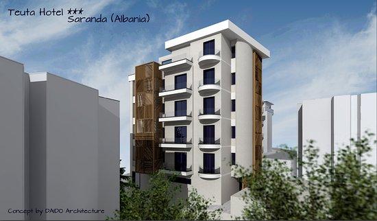 Window View - Picture of Hotel Teuta, Saranda - Tripadvisor