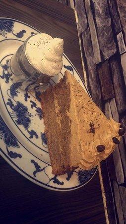 Diamond Cafe : Cappuccino cake 😍