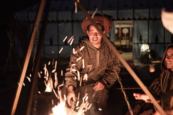 Trips Around Morocco: Mohammed con el fuego.