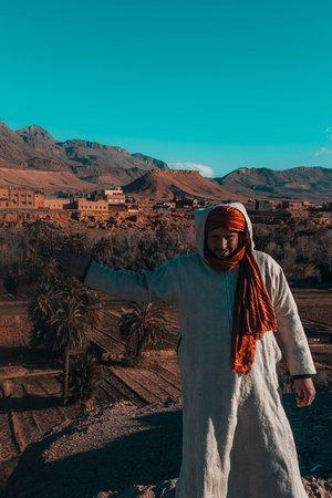 Trips Around Morocco: Zaid, nuestro conductor y guía durante todo el viaje.