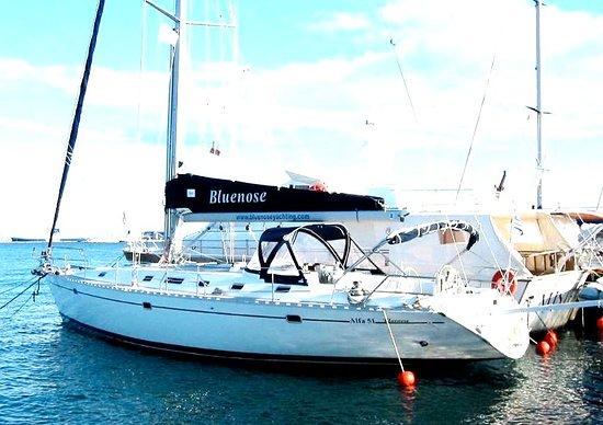 Bluenose in Alimos marina