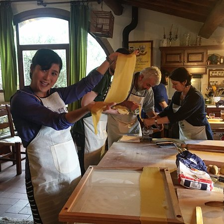Toscana Mia Cooking Classes in Tuscany: Italian Fresh Homemade Pasta ! in Tuscany Gaiole in Chianti