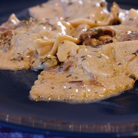 Toscana Mia Cooking Classes in Tuscany: Homemade ravioli with mushroom sauce